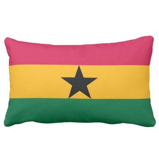 Throw Pillows Jysk : Flag Of Ghana Pillow ORIGIN PILLOWS Pinterest Ghana