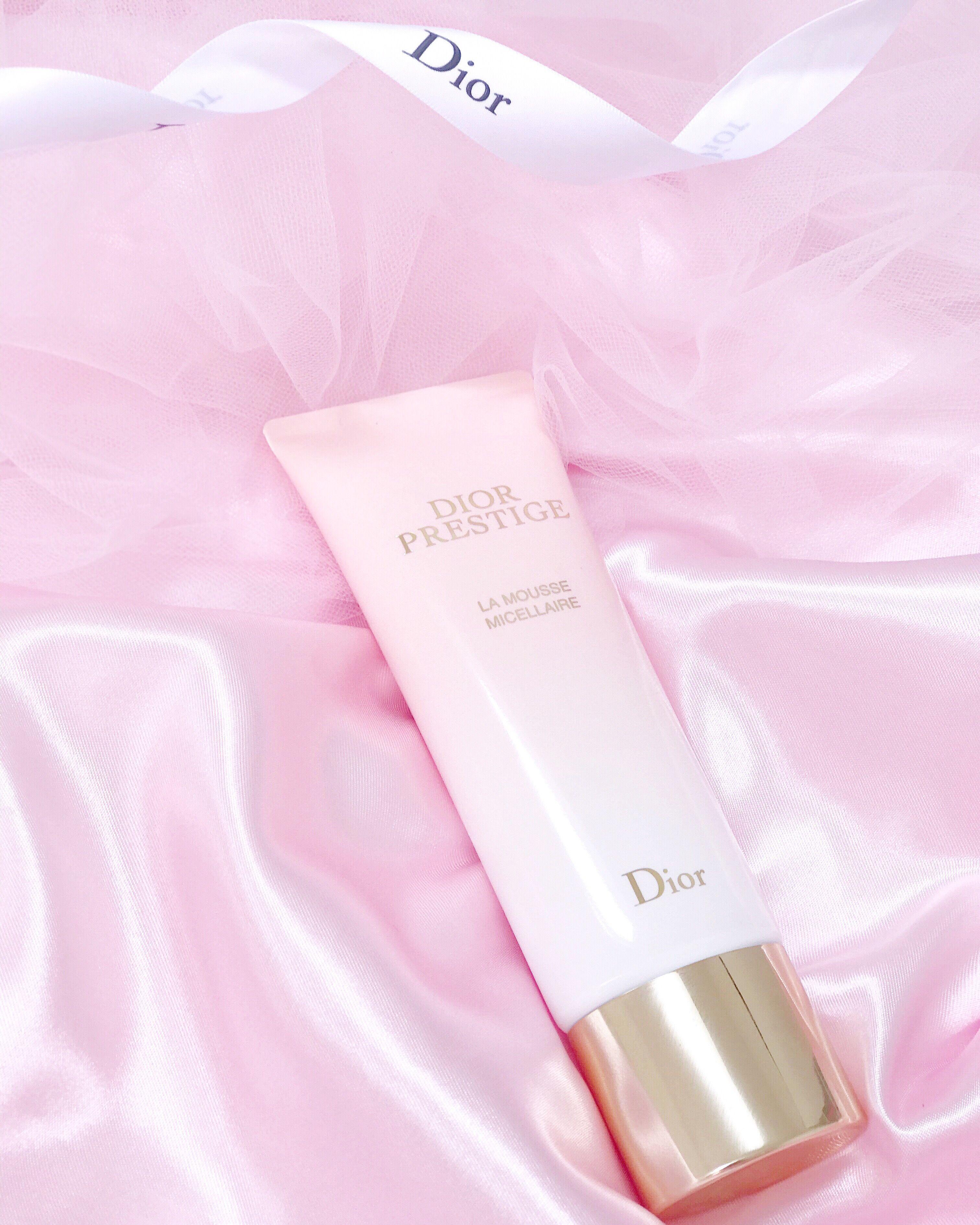 Oh So Heavenly Rose Petal Skin New Dior Prestige La Mousse Micellaire Rose Petals Aesthetic Beauty Makeup