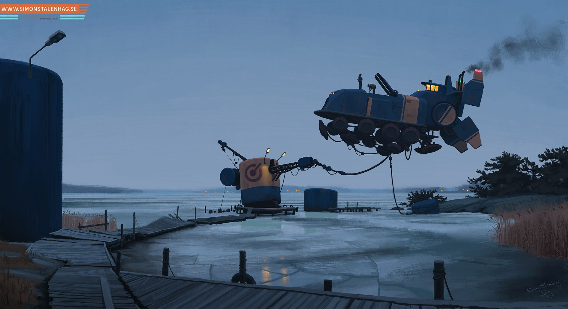 (2) Simon Stålenhag - Complete High Res - Album on Imgur