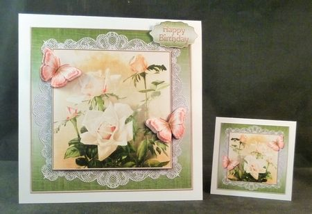 Vintage Roses Topper Kit 924 - Gallery | Craftsuprint