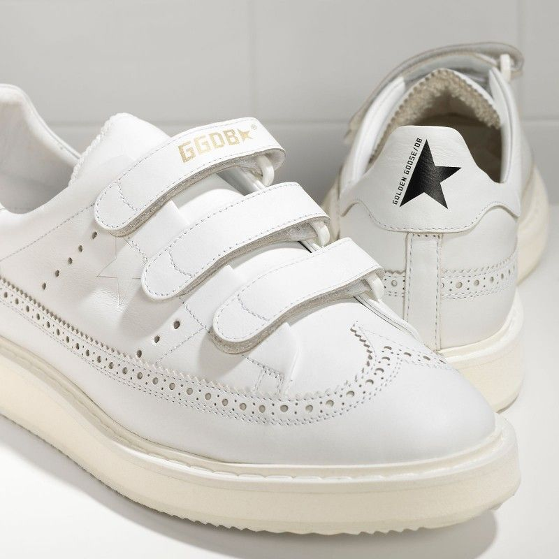 sale hot sale Golden Goose Records Leather Sneakers discount extremely professional shop offer online clearance gVe2DMQ