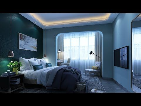 3D MAX 2018 BEDROOM MODELING TUTORIAL WITH VRAY - YouTube | 3Ds Max