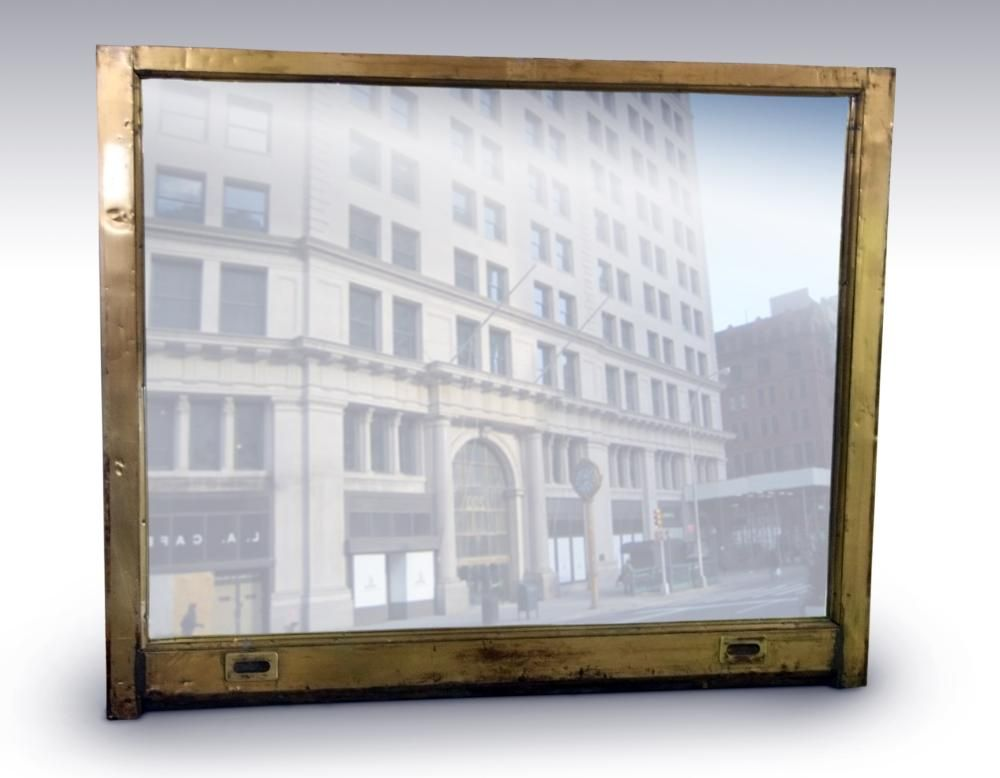 Toy Building Muntz Metal Window Frame Mirror | mirrors | Pinterest ...
