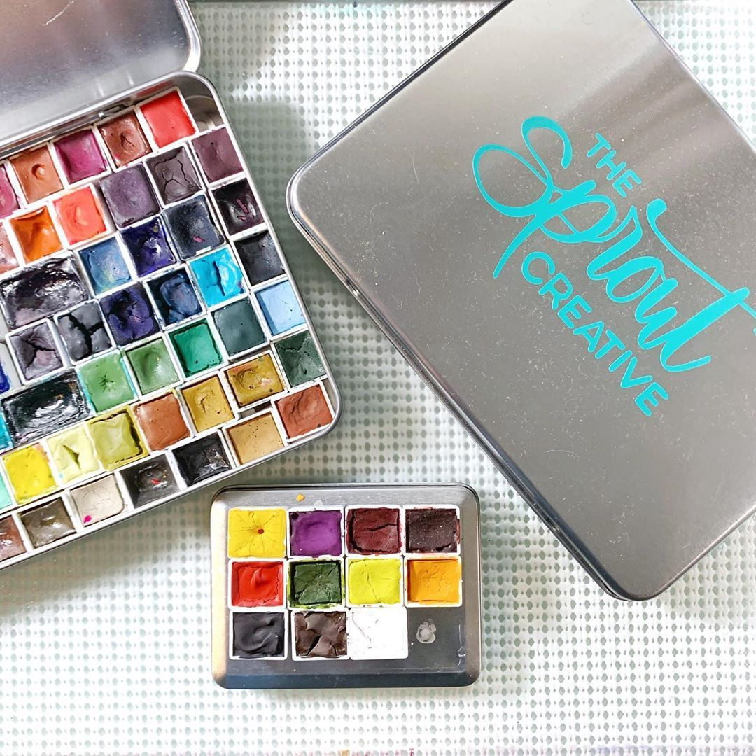The Sprout Creative On Instagram Watercolor Palette The Sprout