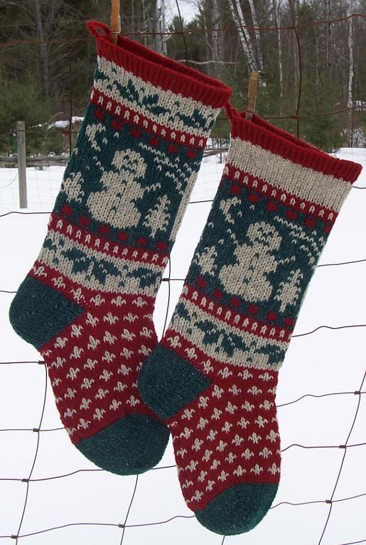 Snowman Christmas Stocking Pattern Stocking Pattern Stockings And