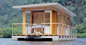 Micro Houseboat You Can Build for Cheap