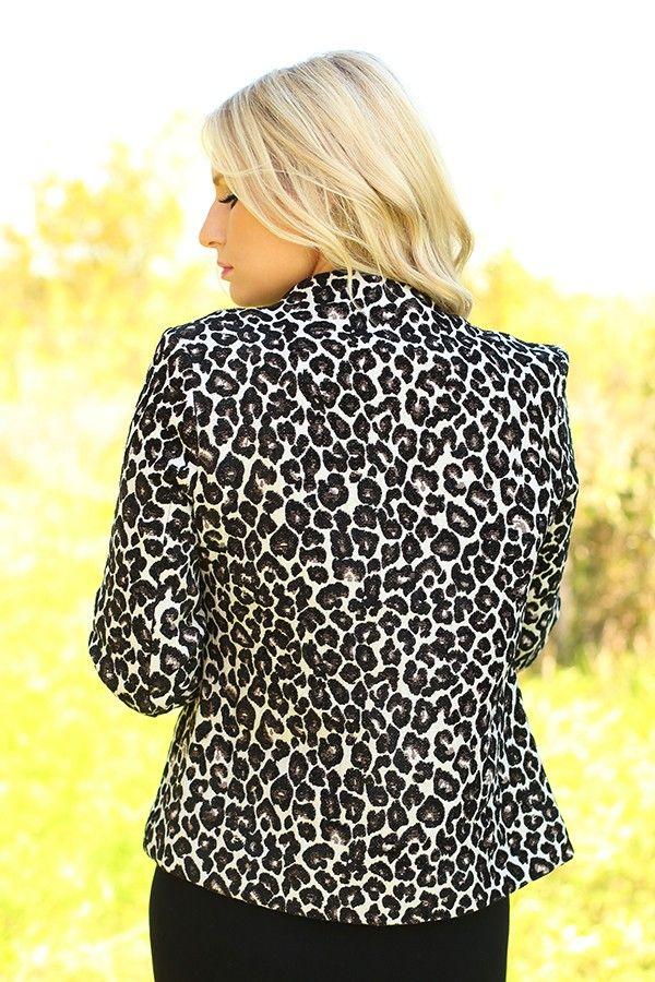 Animal Lover Leopard Jacket