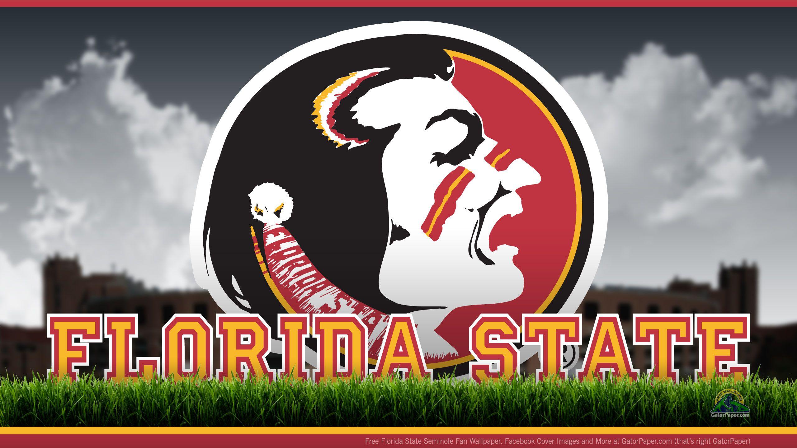 Florida State Seminoles Desktop Wallpaper In 2020 Florida State Football Florida State Seminoles Fsu Logo