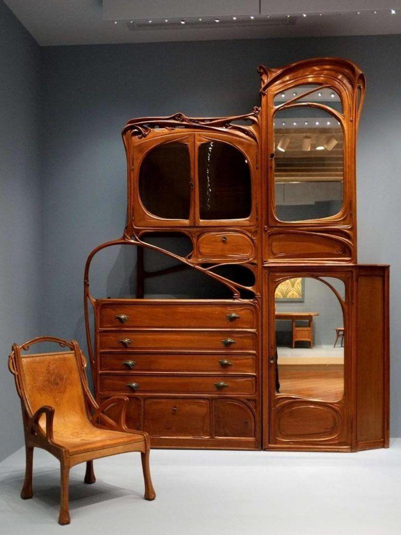 wohnen wie ein aristokrat jugendstil merkmale in der einrichtung jugendstil m bel und. Black Bedroom Furniture Sets. Home Design Ideas