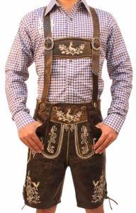 California Costumes Lederhosen Kit Hat Suspenders Oktoberfest Beer German 60682