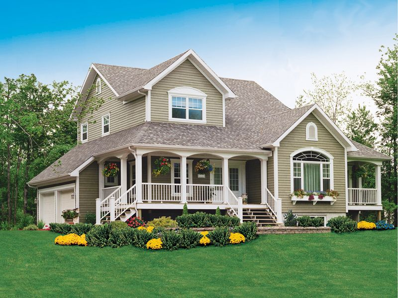 Alfred Country Farmhouse Magnificent Two-Story Home Plan
