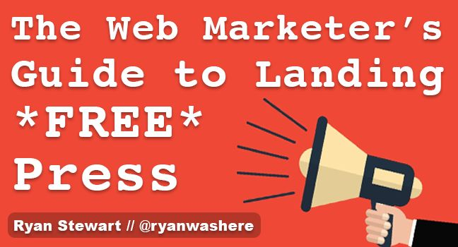 The Web Marketer's Guide to Landing Press – Online PR