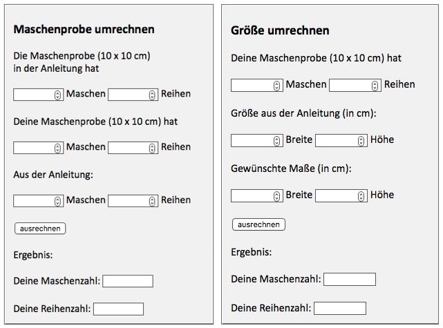 Photo of Neu: der kostenlose Maschen- und Größenrechner (Kerstins Strickwerk)