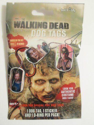 The Walking Dead - Season Two (1 Pack) DOG TAG by Bulls i Toy, LLC, http://www.amazon.com/dp/B00B3OYA3K/ref=cm_sw_r_pi_dp_ocQTrb0JER7HQ
