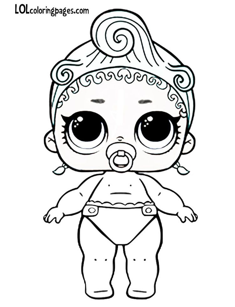 Lil Precious Jpg 750 980 Pixels Lol Dolls Cool Coloring Pages Puppy Coloring Pages