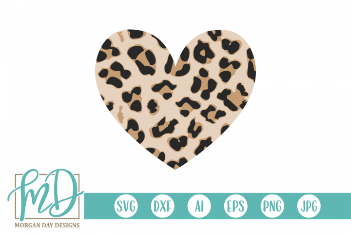 Leopard Heart Cheetah Valentine Valentines Day Svg In 2020 Valentines Day Hearts Digital Sticker Heart Printable