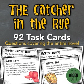 catcher in the rye assignments