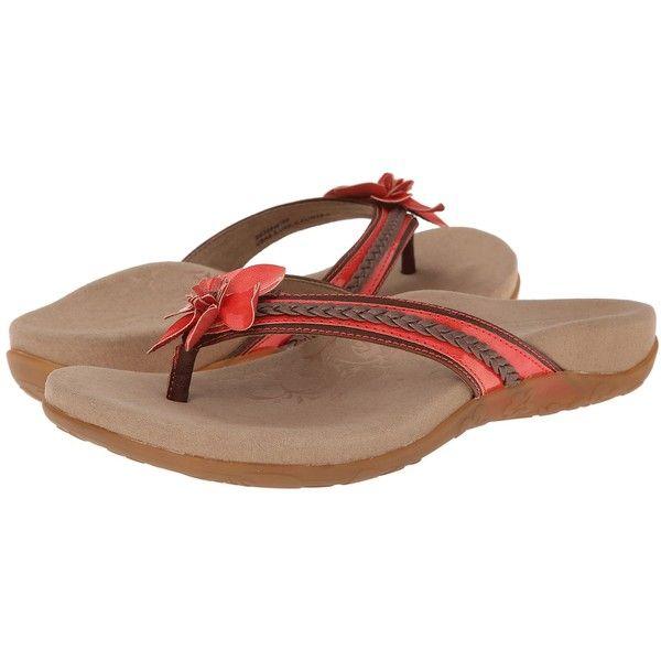 7deae46a17f Aetrex Selena Thong Sandal Women s Toe Open Shoes