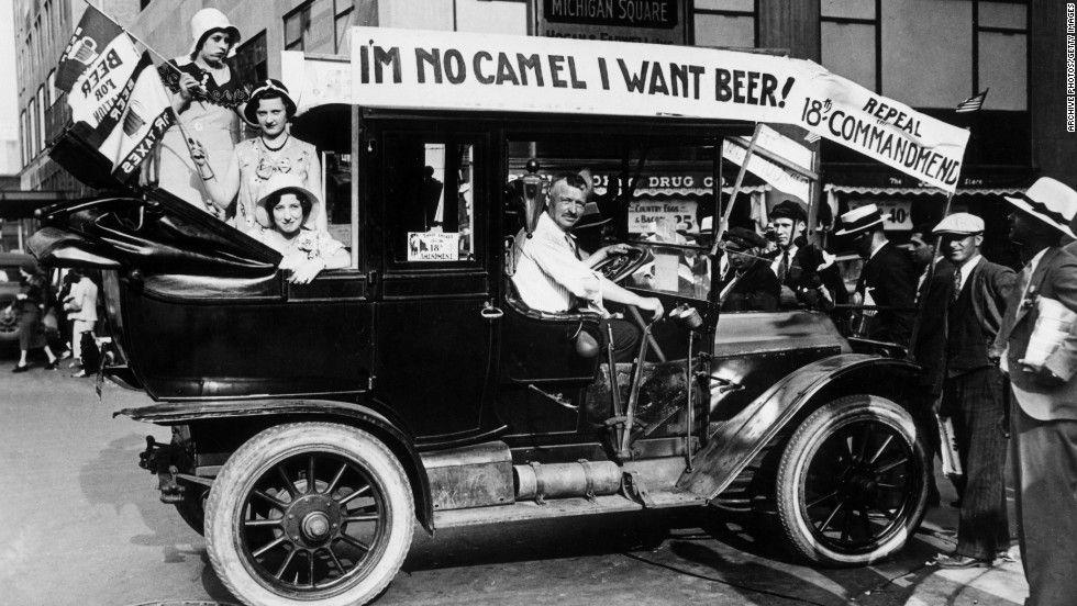 Pin Em Ley Seca 1920 1933 La Prohibición