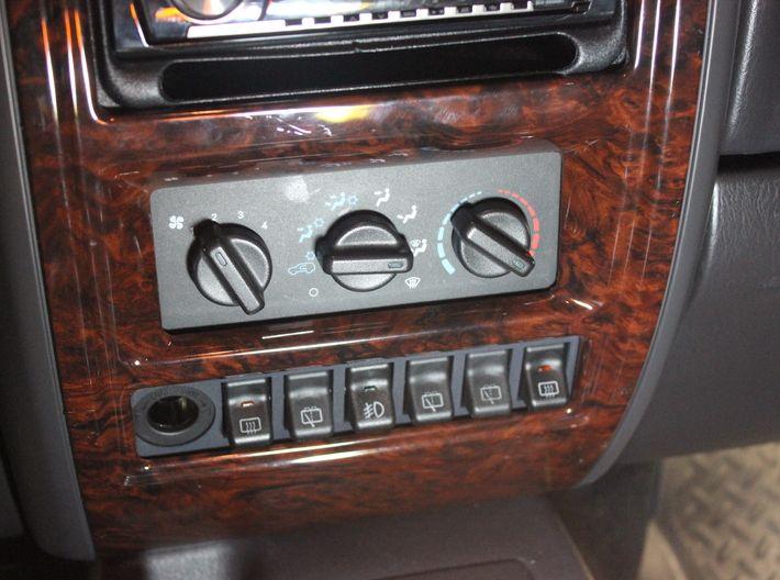 97 01 Jeep Cherokee Xj 6 Switch Bezel Driver Power By Wizardpc On