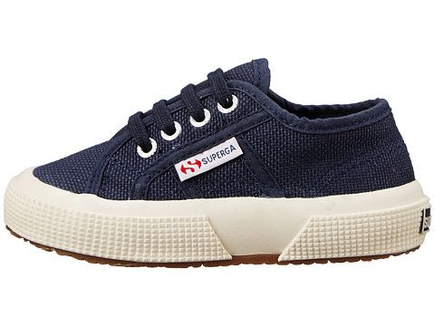best service 748eb 6cec8 Superga Kids 2750 JCOT Classic (ToddlerLittle Kid) Navy - Zappos.com Free  Shipping BOTH Ways