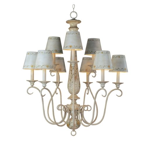 Buy the maxim french floral direct shop for the maxim french floral 9 light chandelier from the french country collection and save