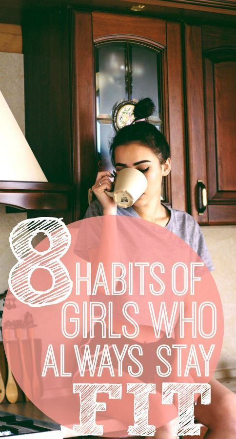 8 Daily Habits of Fit Girls You Need to Implement -  I love fitness motivation, and these weight los...