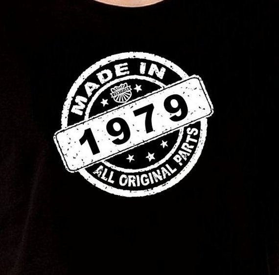 35th Birthday Gifts For Men: Made In 1979 Vintage 35th Birthday Gift Present By