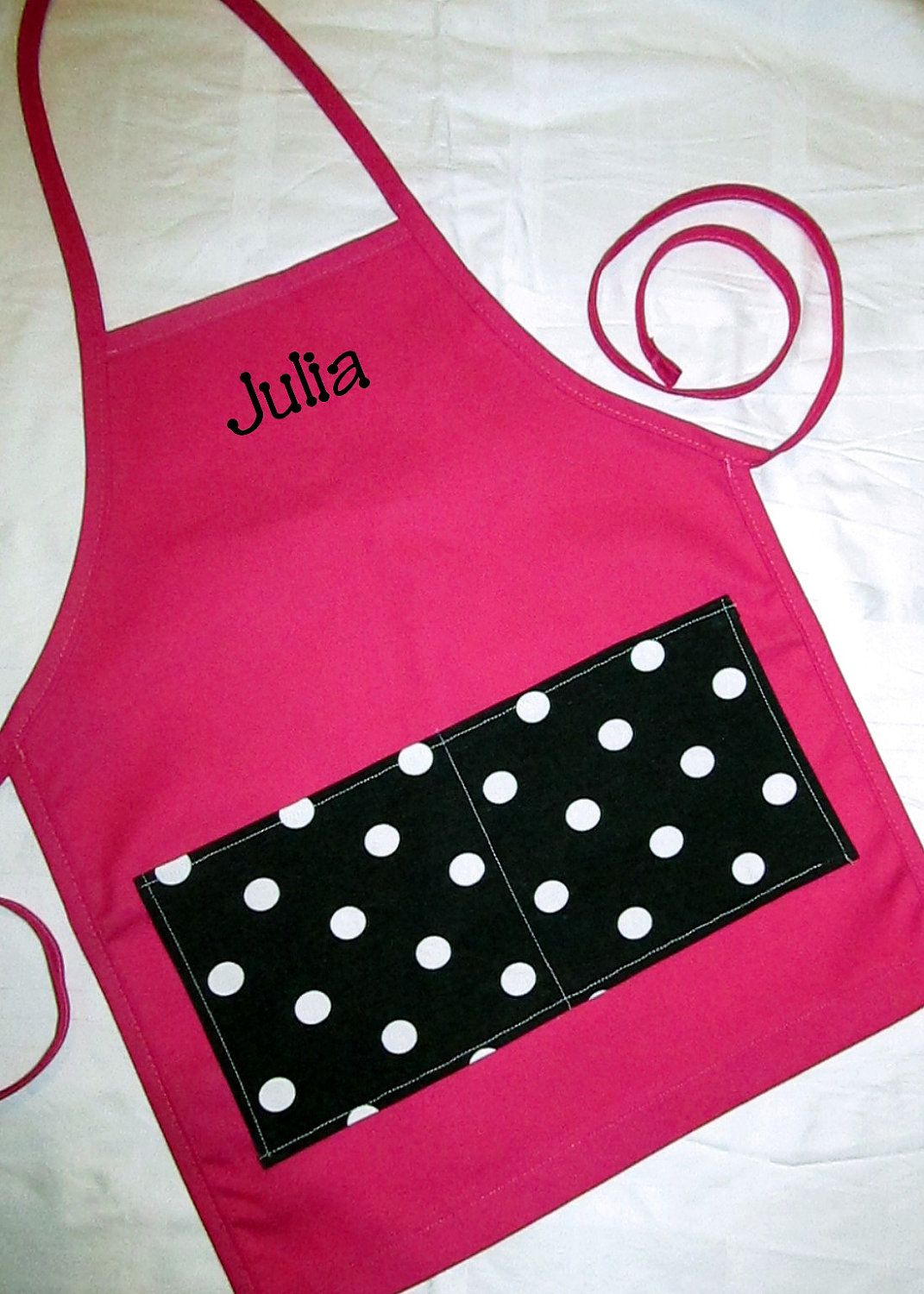 d64b9aeefa58 Personalized Kids Apron.... DESIGNED BY YOU.... Custom Monogrammed Child  Apron... $16.99, via Etsy.