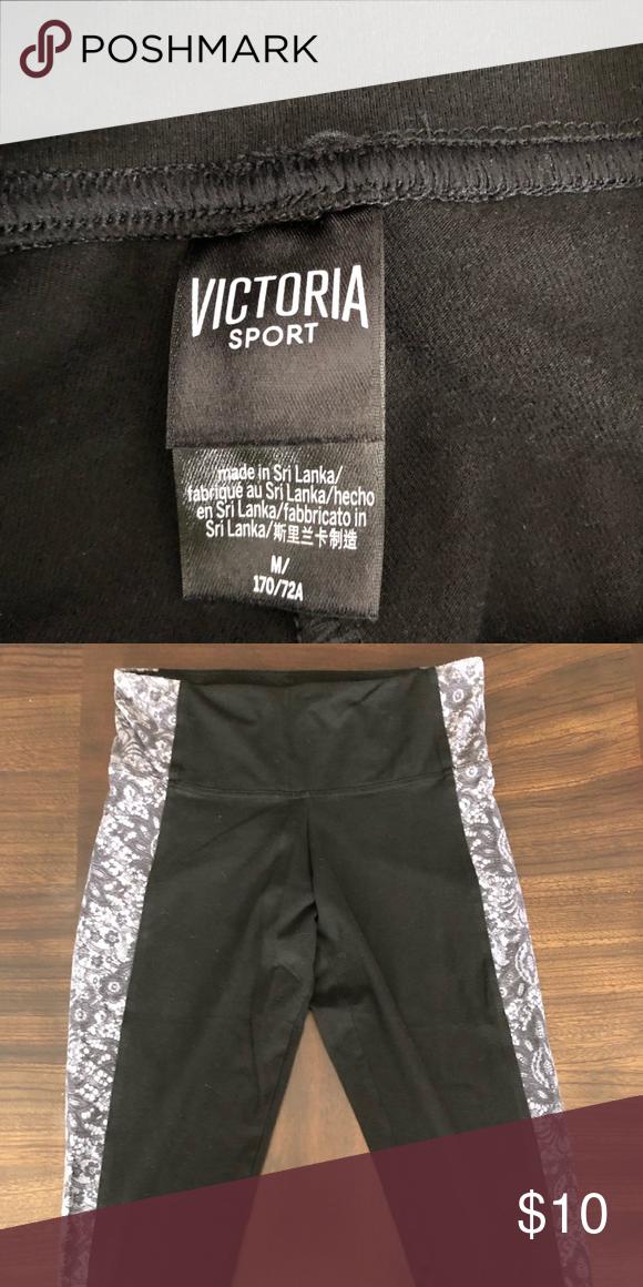 75718113b574e Victoria's Secret Capri Leggings Never worn Victoria's Secret Capri  leggings Victoria's Secret Pants Leggings