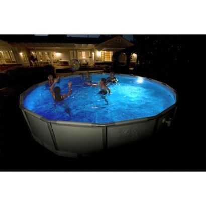 61 49 Intex Led Pool Light With Images Led Pool Lighting