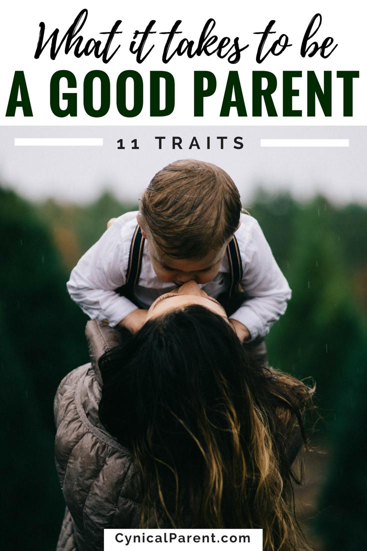 top ten characteristics of a good parent