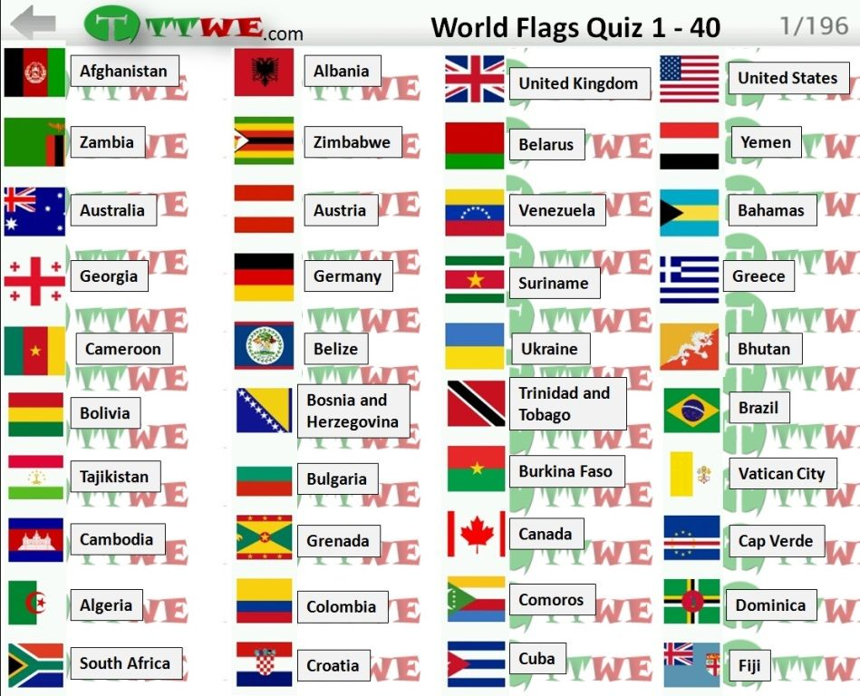 Logo Quiz World Flags Answers Cheats - Logo Quiz World Flags