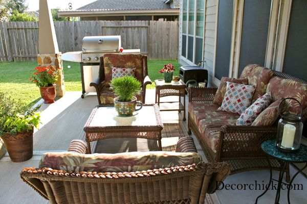 Bon Pretty Patio And Outdoor Living! By Blogger Decorchick #kirklands  #putogooduse