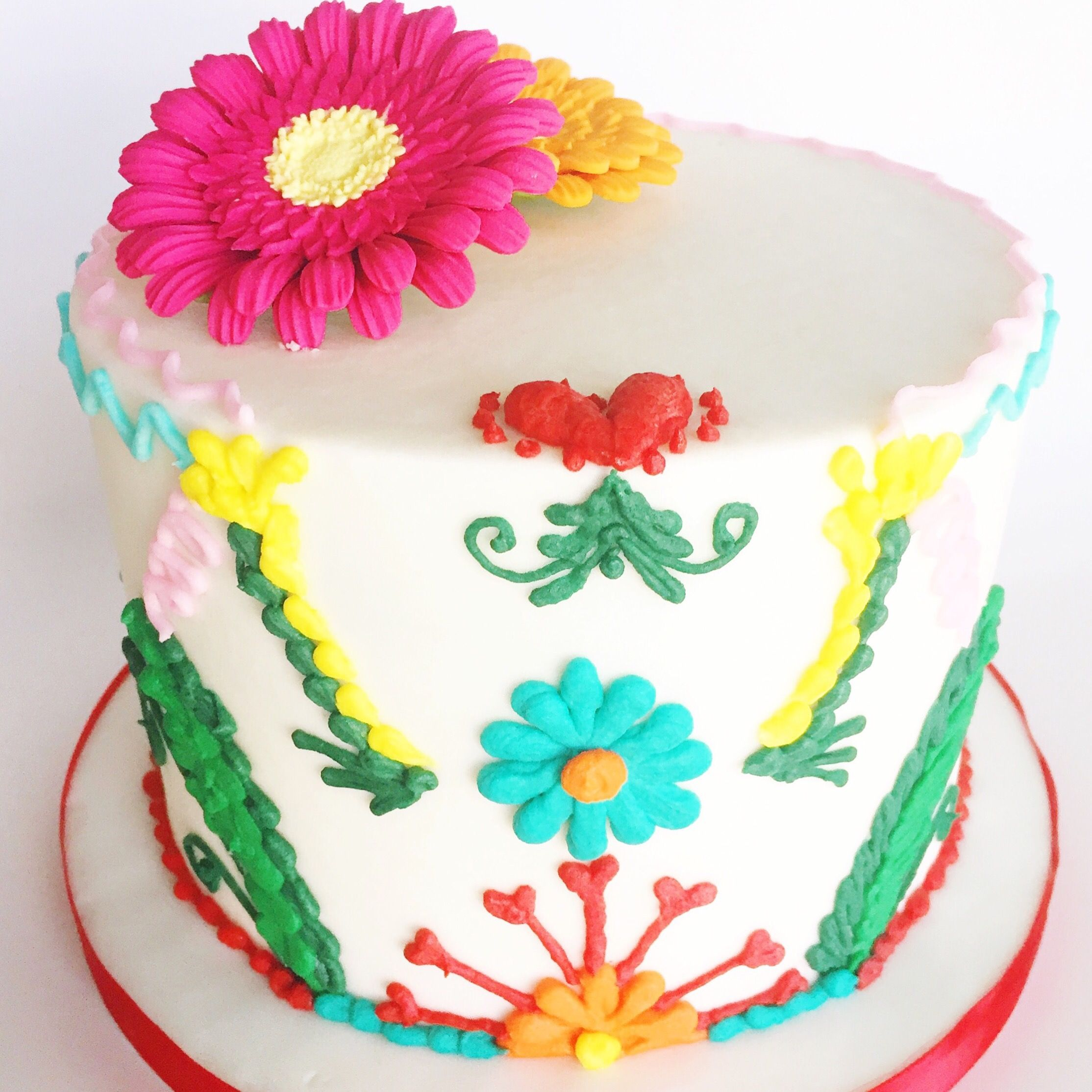 Spanish Themed Birthday Cake Miss Retail Therapist Blog
