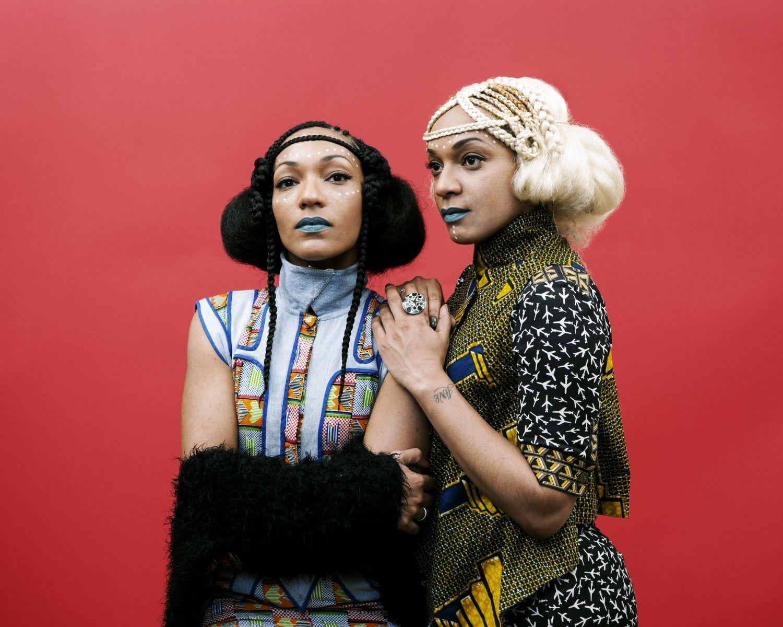 Les Nubians. Bohemian. Boho.