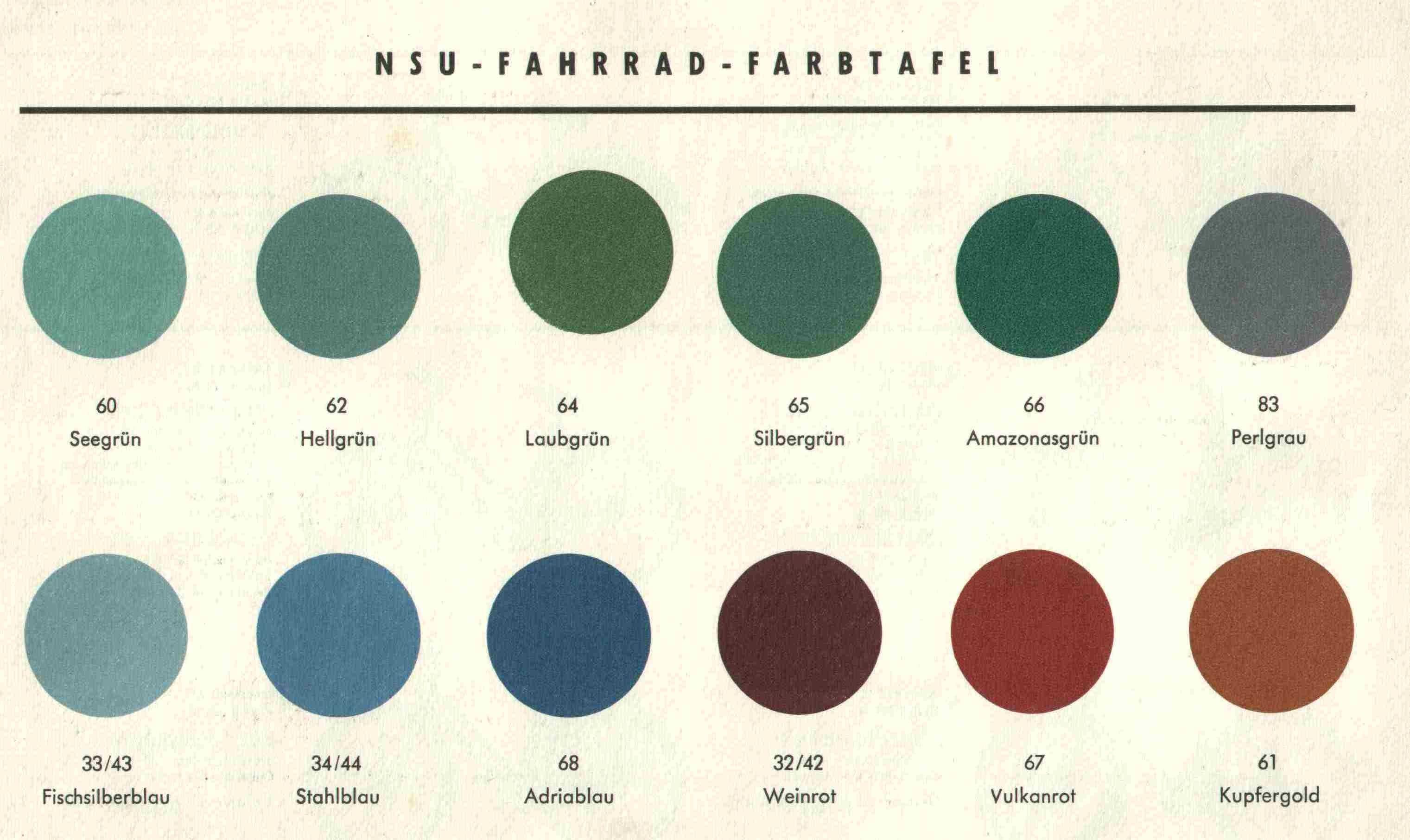 Farben 50er Jahre Google Suche 50er 50er Jahre Farben