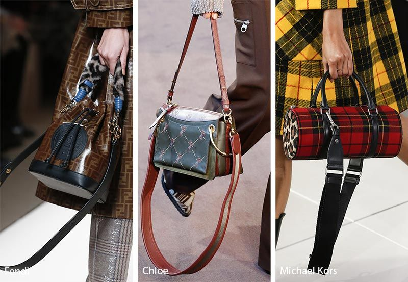 Fall Winter 2018 2019 Handbag Trends Bags Purses With Dangling Leather Straps