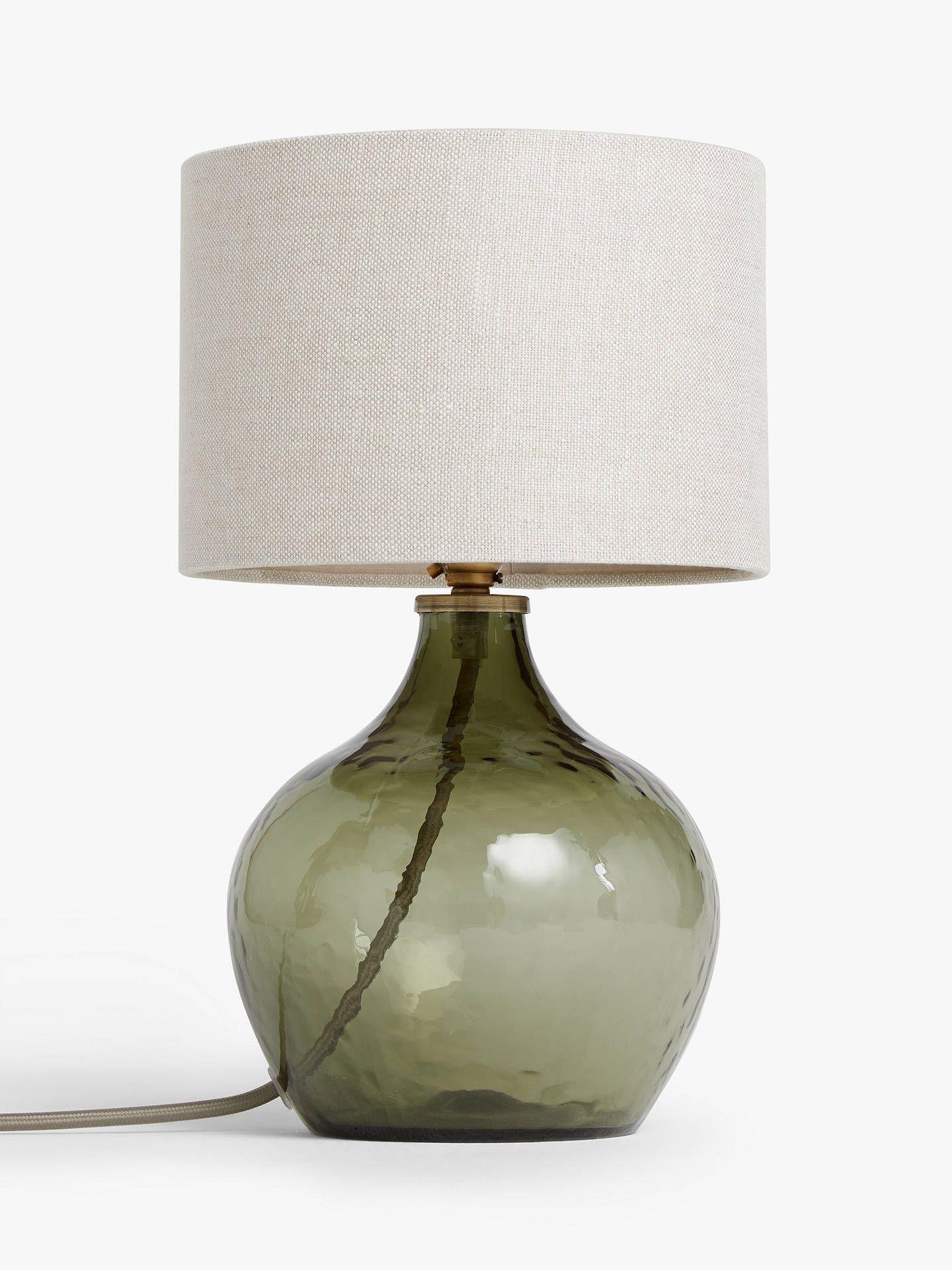 John Lewis & Partners Robyn Small Mottled Glass Lamp Base