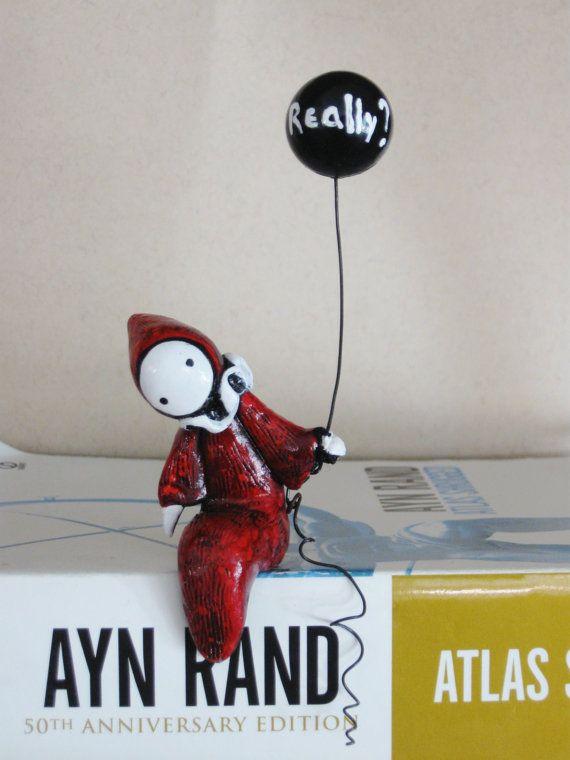 Really  Poppet by Lisa Snellings by Strangestudios on Etsy, $45.00