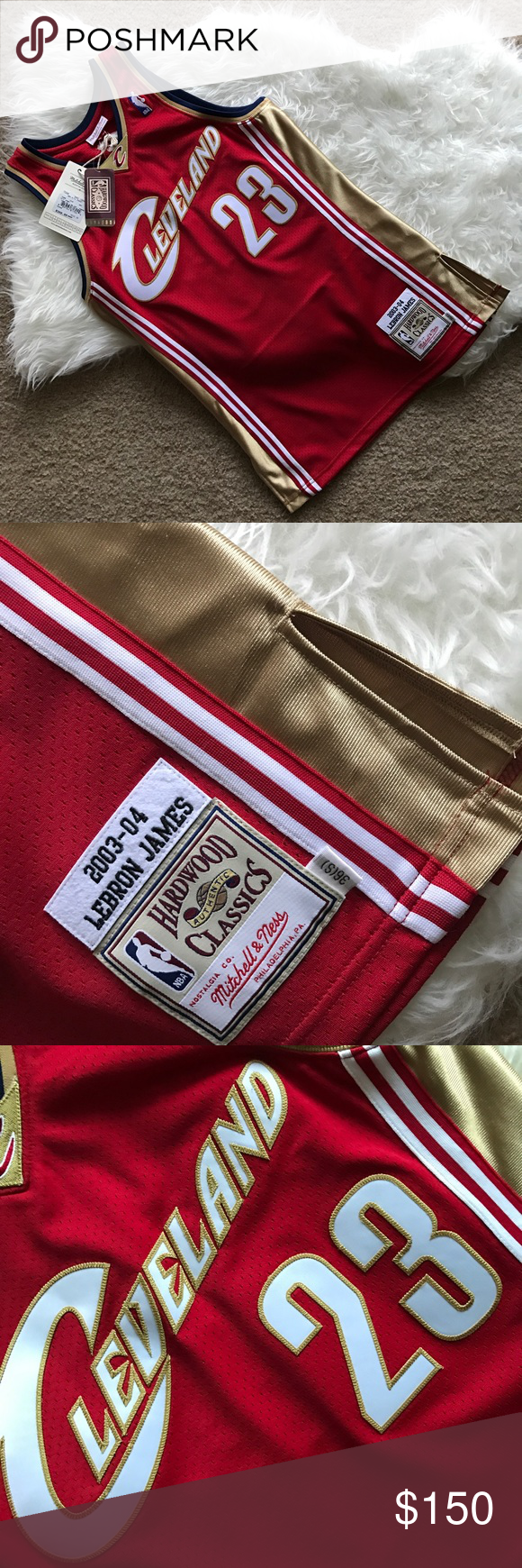 huge discount 282af 34732 Mitchell & Ness LeBron James Rookie Jersey Up for grabs is ...