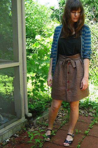 Il me faut une jupe comme celle là (from Wiksten)