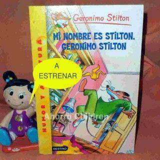 Libro Gerónimo Stilton NUEVO A ESTRENAR 4.95€ www.ahorrochildren.es