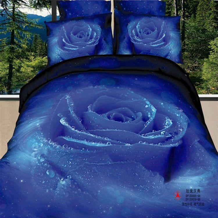 full size bed comfirtor blue sets fir teen girls   blue rose modern girls  bedding set. full size bed comfirtor blue sets fir teen girls   blue rose