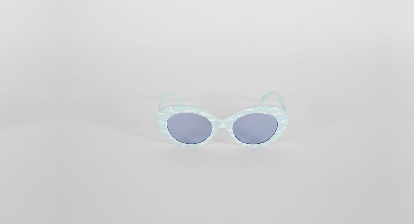 e2b6d9165f Crap Eyewear The Love Tempo Sky Blue Cloud Sunglasses - Everything -  Categories - Womens