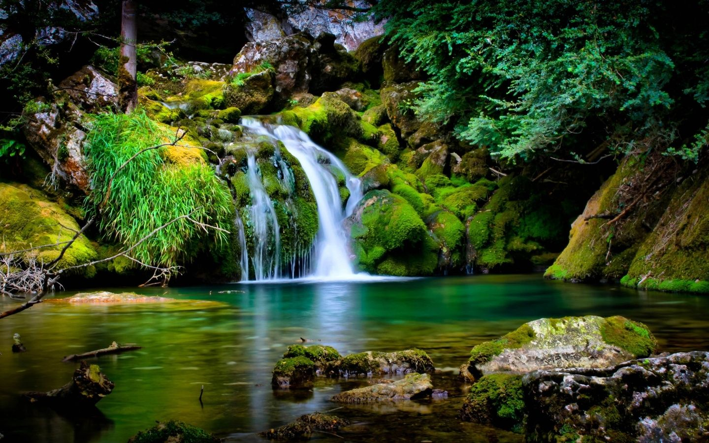 Hd Wallpapers Waterfall Scenery Waterfall Wallpaper Waterfall Pictures