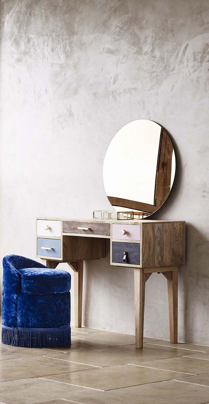 Powder up alongside the alicia dressing table deco