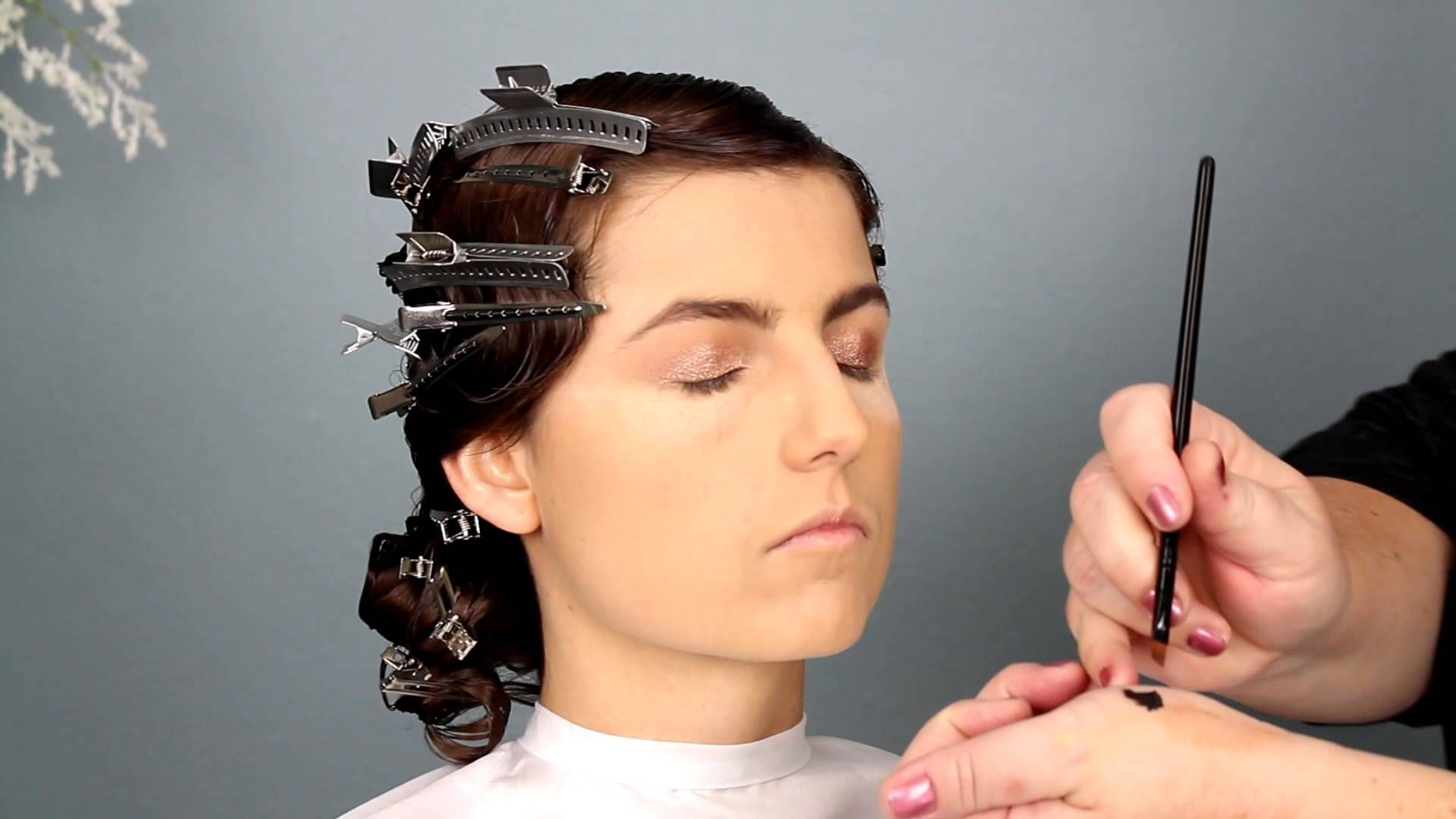 1920s bridal hair and makeup tutorial …   cool hairstyles