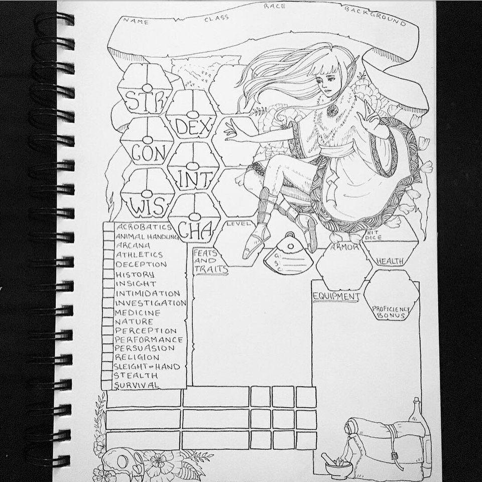 5e Druid Sheet