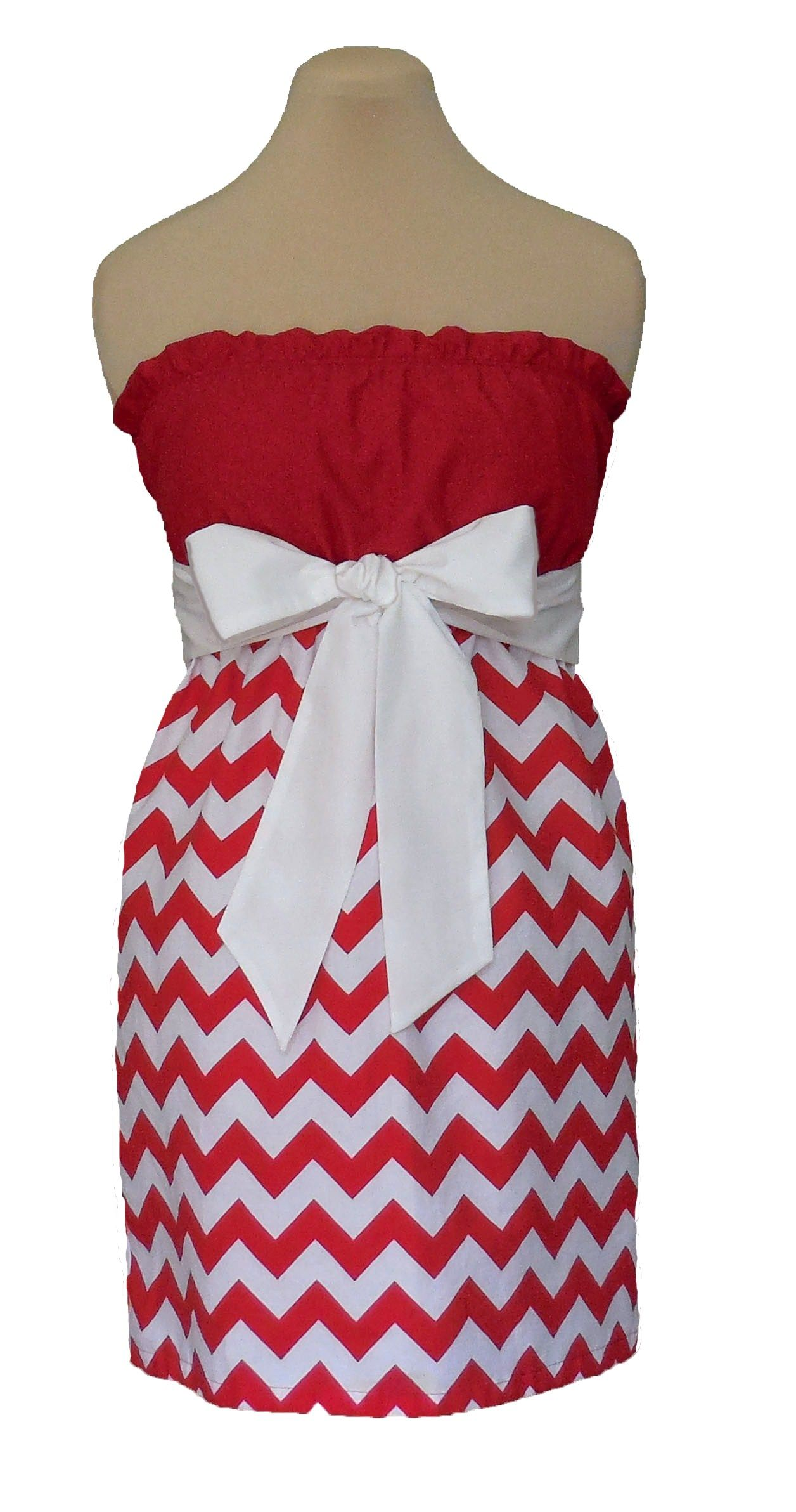 www.gameondresses... Game Day Chevron! Rock your school colors on ... faeaee072